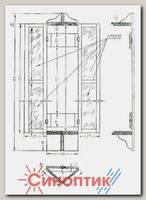 Гидрометприбор Барометрический шкафчик барометр настенный