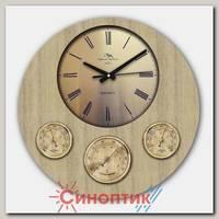 Москвин М19.23 барометр+гигрометр+термометр