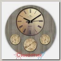 Москвин М19.28 барометр+гигрометр+термометр