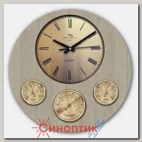 Москвин М19.42 барометр+гигрометр+термометр
