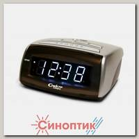 Спектр СК 0720 С-Б часы с будильником