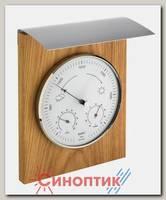 TFA 20.1079.01, деревяная барометр+гигрометр+термометр